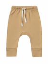 Quincy Mae drawstring pant in honey