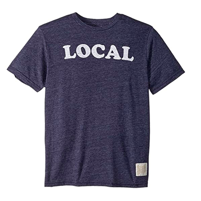 Retro Brand - LOCAL Tee in Heather Navy
