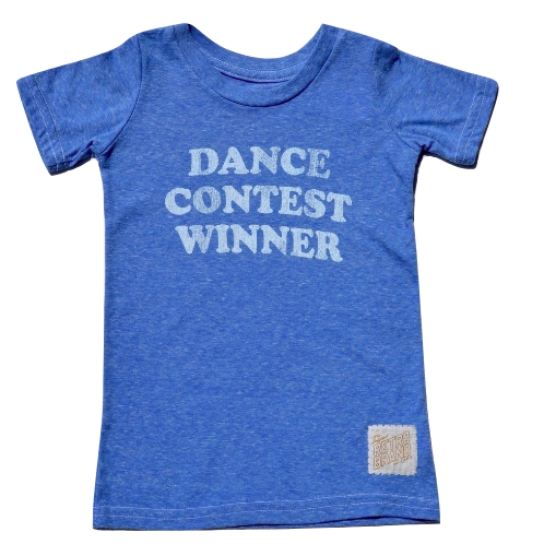 Kids Dance Contest Winner in Heather Blue