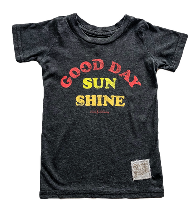 Good Day Sunshine tee for kids