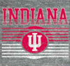 Kids IU Indiana Tee in Heather Grey