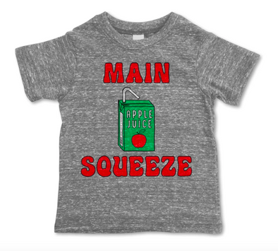 Rivet Kids Main Squeeze tee in Heather Grey