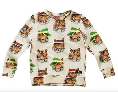 boys Tiger sweatshirt