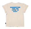 Rock Your Baby - Summertime and the Livin' Is Easy Lion Tee in Cream