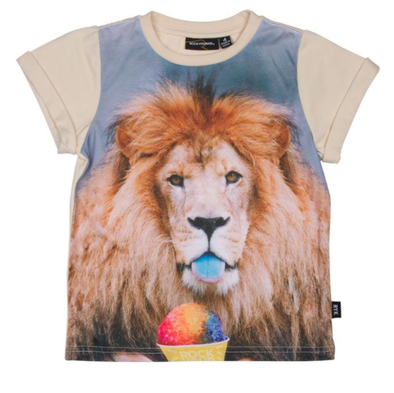 Rock Your Baby Summertime and the Livin' is Easy Lion tee