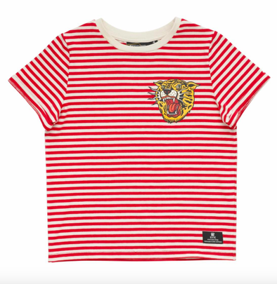 Rock Your Baby tiger stripes tee