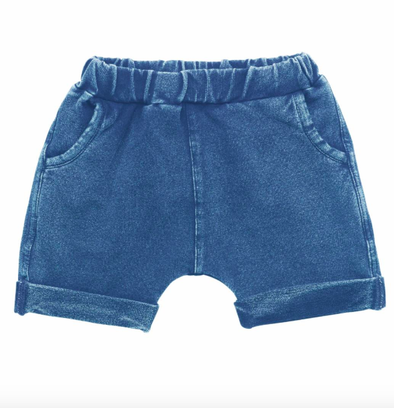 Rock Your Baby infant smash shorts blue