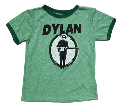 Rowdy Sprout Kids Bob Dylan tee