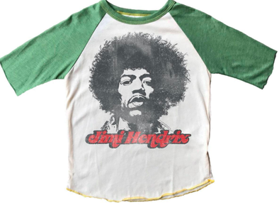 Rowdy Sprout Kids Jimi Hendrix tee