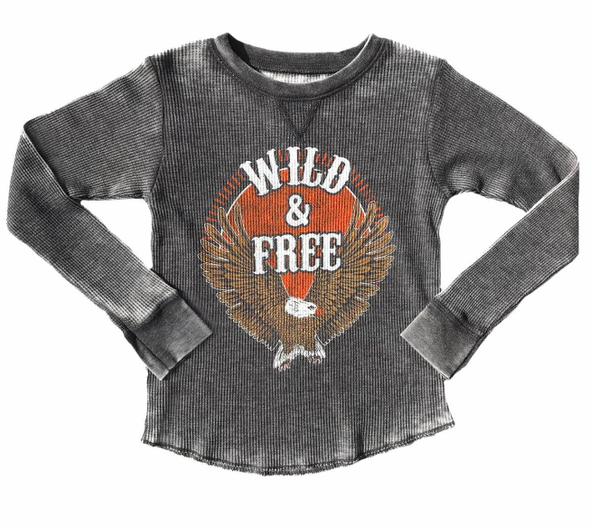 Rowdy Sprout Wild & Free thermal for kids