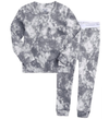 toddler grey tie dye pjs