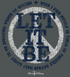 Retro Brand - Let It Be Tee in Heather Grey