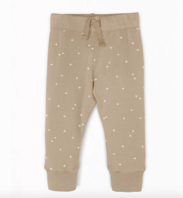 Colored Organics - Cruz Baby Jogger in Clay Pluses