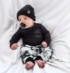 Little Bipsy - Knit Beanie in Black