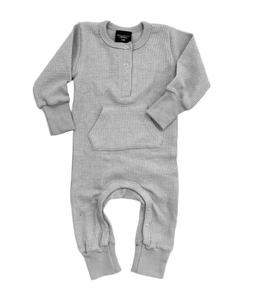 Little Bipsy grey thermal romper