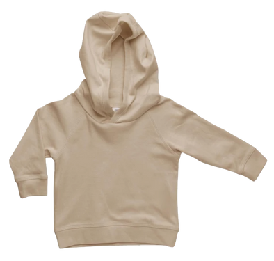 Colored Organics - Madison Hooded Pullover in Clay