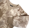 Little Bipsy - Tie Dye Pullover Sweatshirt in Taupe