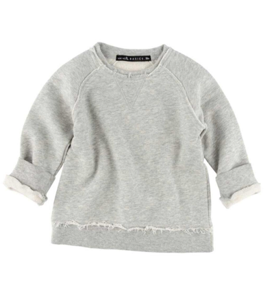 Miki Miette Iggy pullover in heather grey