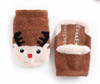 Baby/Toddler No-Slip Fuzzy Holiday Socks