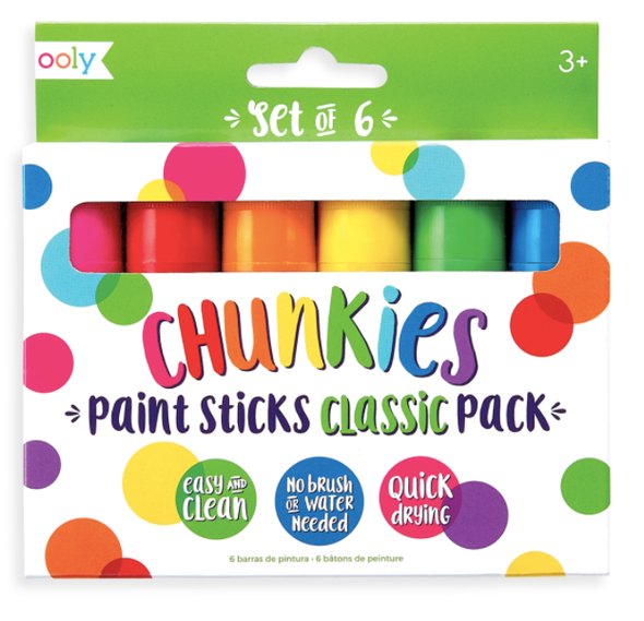 Chunkies - Classic Paint Sticks Pack of 6