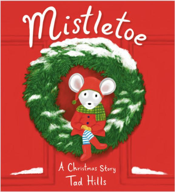 Mistletoe Christmas Story Book