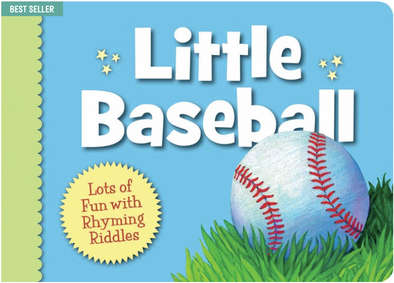 Baby baseball board book