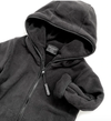Little Bipsy - Hooded Fleece Jacket in Black