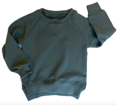 Little Bipsy pullover sweatshirt in midnight teal
