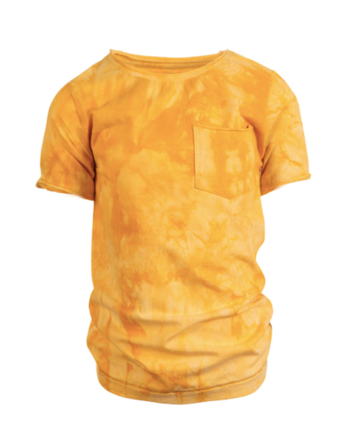 Appaman boys yellow tie dye shirt