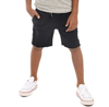 Boys black Appaman camp shorts