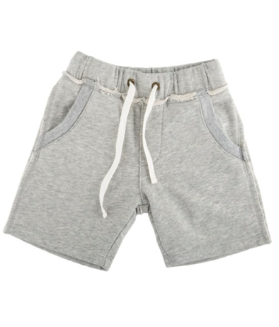 Boys heather grey sweatshorts