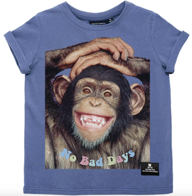 Rock Your Baby No Bad Days monkey tee