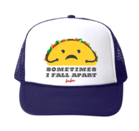 Bubu - Baby/Toddler/Kids Trucker Hats - Fall Apart Taco in Navy