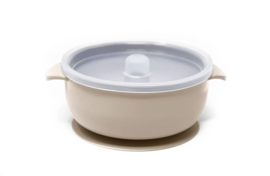 The Dearest Grey - Silicone Suction Bowls - Multiple Colors Available