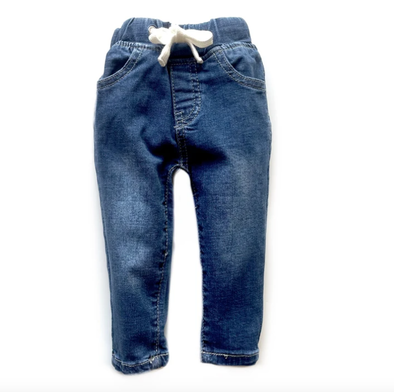 Little Bipsy - Kids Classic Denim in Midwash