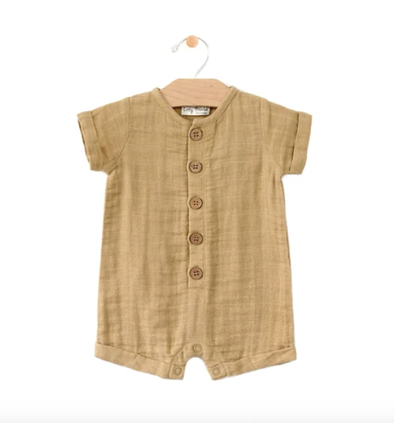 City Mouse Muslin romper