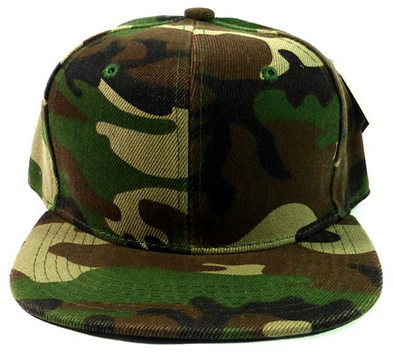 toddler kids camo snapback hat