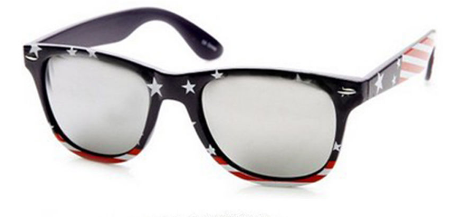 Kids american flag patriotic sunglasses $8