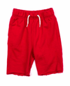 Appaman boys camp shorts red