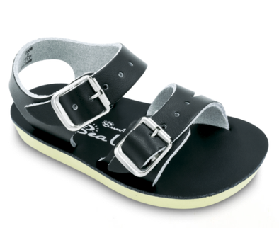 Baby Saltwater Sandals Sea Wees Black
