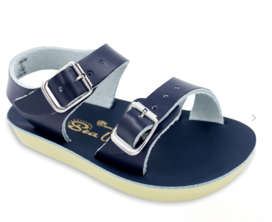 Saltwater - Sun San Baby Sea Wees Sandals - Navy