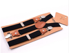 Elastic Suspenders with Faux Leather Details (more colors available)
