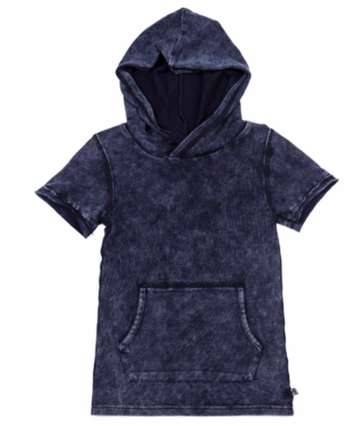 Appaman hooded tee in indigo