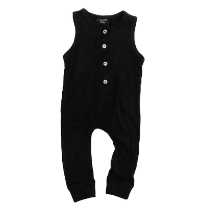 Little bipsy tank romper black