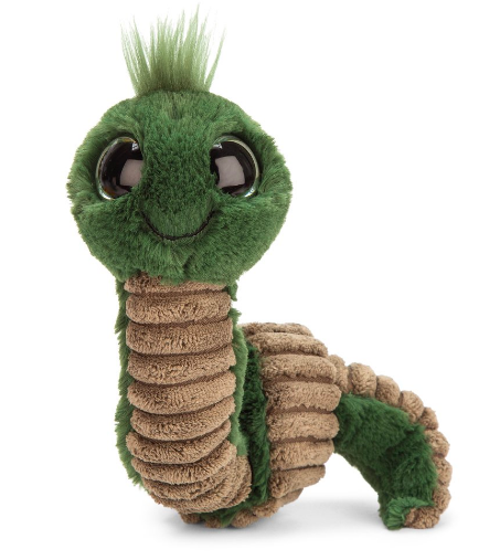 """Jellycat - Wiggly Worm Green - 12"""""""