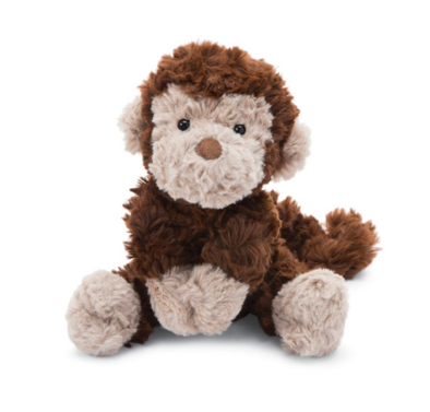 Jellycat squiggle monkey small