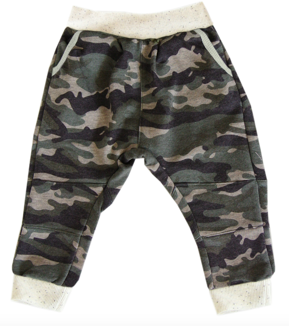 Miki Miette - Kennedy Camo Sweatpants in Harlem