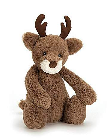 Jellycat - Medium Bashful Reindeer - 15""