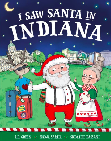 I Saw Santa in Indiana book