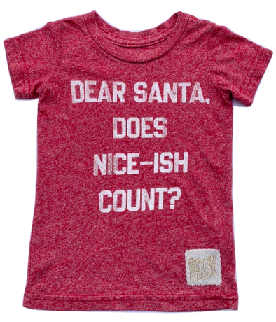 Kids dear santa does nice ish count